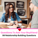 99 Questions to Ask your Boyfriend – (2020 Update)